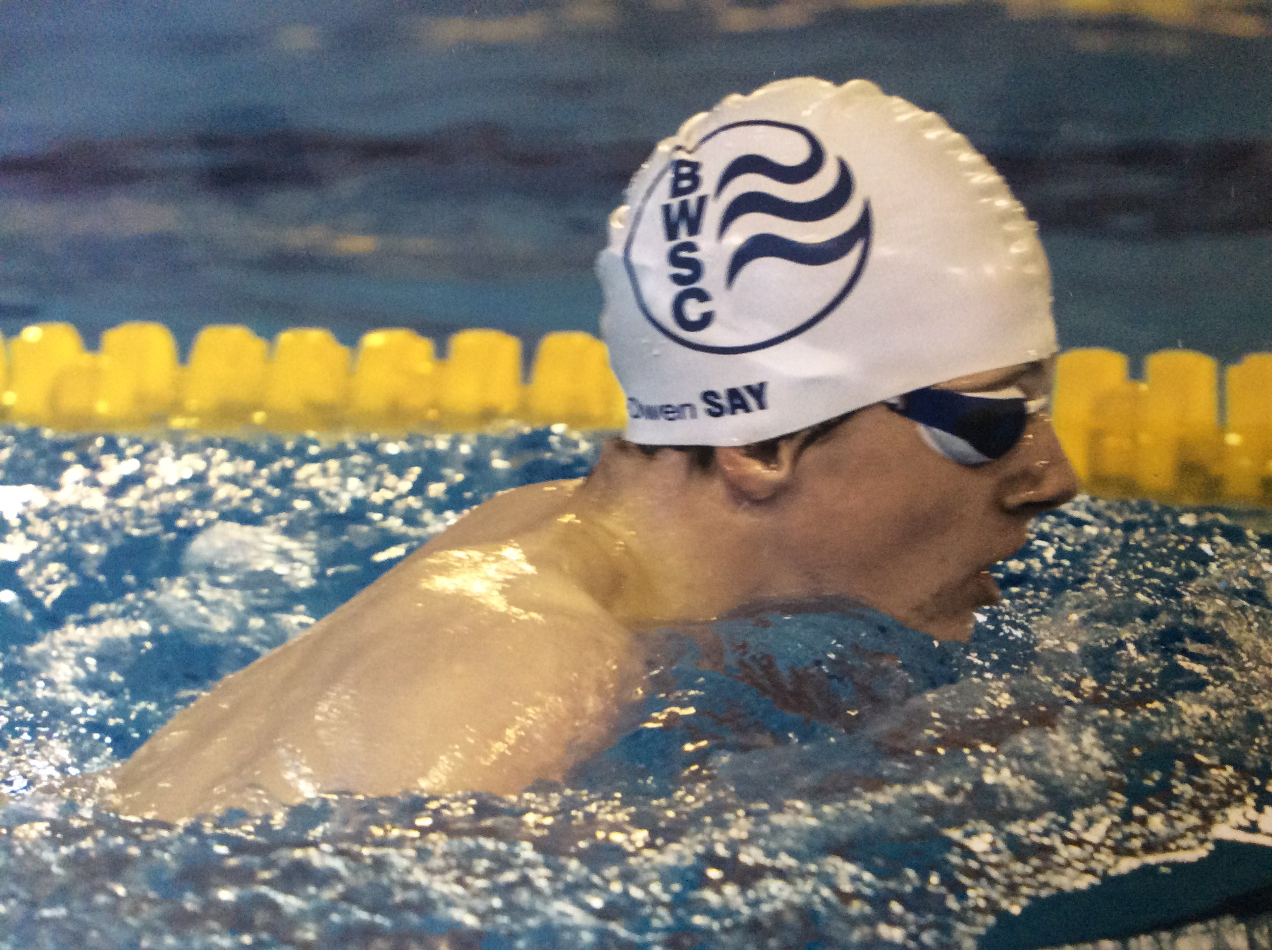 Owen and tyler competing at para world championships bracknell wokingham swimming club for Wokingham swimming pool timetable
