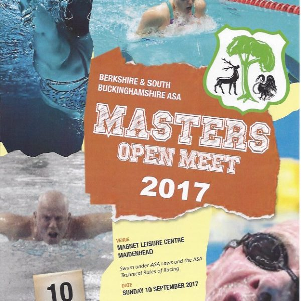 Masters County Meet – 10th Sept 2017