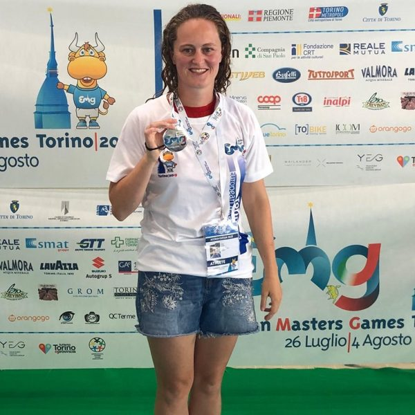 Silver for Amy in European Games