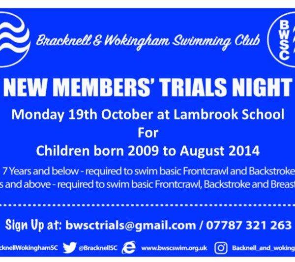 BWSC Trials Night