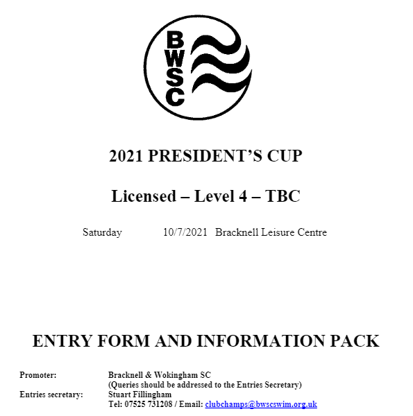 Presidents Cup 2021